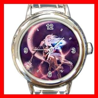 Purple Moon Fairy Italian Charm Wrist Watch 112