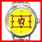 The Old Scottish Rampant Lion Italian Charm Wrist Watch 116
