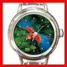 Parrot Flying Italian Charm Wrist Watch 117