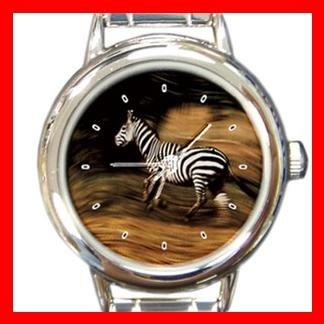 Zebra Wild Animal Italian Charm Wrist Watch 122