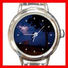 Lion at Night Italian Charm Wrist Watch 123