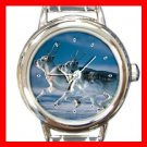 Wild Hare Animal Italian Charm Wrist Watch 127