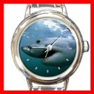 Great White Shark Italian Charm Wrist Watch 129