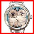 Cute Cat Friend Pet Italian Charm Wrist Watch 130