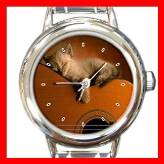 Cute Cat Pet Animal Italian Charm Wrist Watch 132