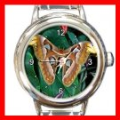Rare Butterfly Italian Charm Wrist Watch 135