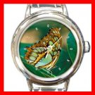 Rare Butterfly Italian Charm Wrist Watch 136