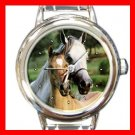 Horses Horse Animal Italian Charm Wrist Watch 137