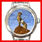 Cheetah Animal Italian Charm Wrist Watch 142
