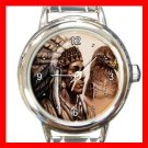 Eagle & Indian Round Italian Charm Wrist Watch 164