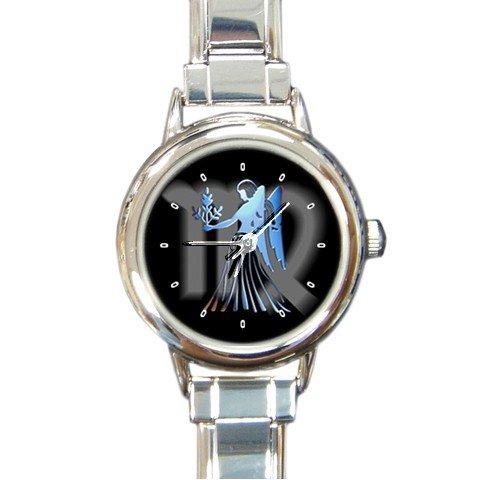 Zodiac Virgo Round Italian Charm Wrist Watch 172