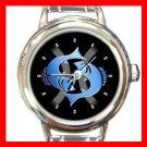 Zodiac Pisces Round Italian Charm Wrist Watch 174