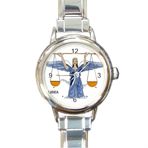 Angels of Libra Round Italian Charm Wrist Watch 261