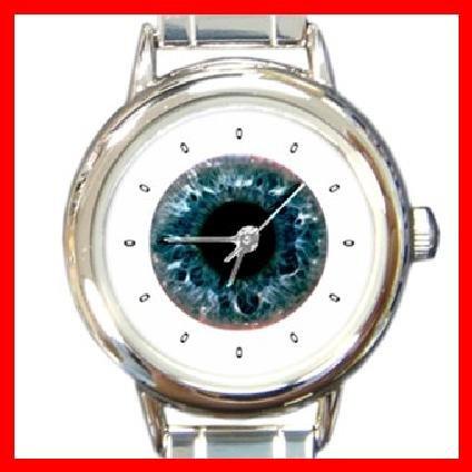 EYE ANATOMY Round Italian Charm Wrist Watch 268