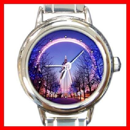 British Airways London Round Italian Charm Wrist Watch 269