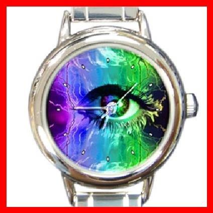 Eye Art ANATOMY London Round Italian Charm Wrist Watch 270