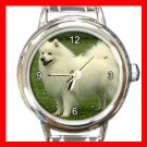 Spitz DOG Pet Animal Round Italian Charm Wrist Watch 289