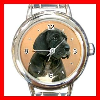 Neapolitan Mastiff DOG Pet Animal Round Italian Charm Wrist Watch 322