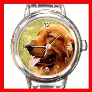 Irish Setter DOG Pet Animal Round Italian Charm Wrist Watch 339