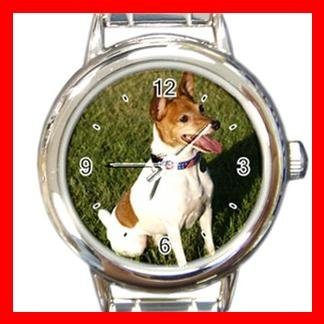 Fox Terrier DOG Pet Round Italian Charm Wrist Watch 353
