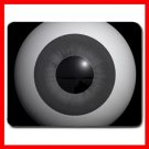 Eyeball Eye Ball Hobby Fun Mouse Pad MousePad Mat 008