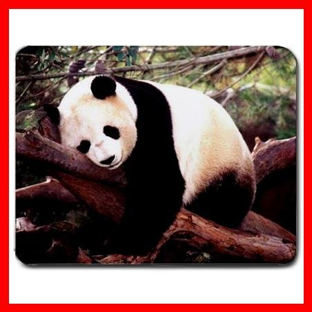 Sleeping Panda Cute Animal Mouse Pad MousePad Mat 010