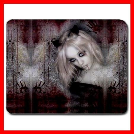Vampire Goth Fairy Bloody Mouse Pad MousePad Mat 020