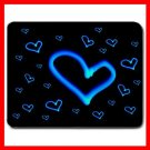 Blue Love Heart Cool Hobby Mouse Pad MousePad Mat 023