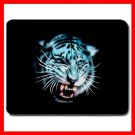 White Tiger Wild Animal Fan Mouse Pad MousePad Mat 024