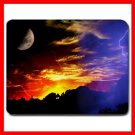 Sun Moon Light Nature Hobby Mouse Pad MousePad Mat 027