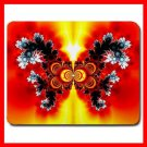 Fractal Butterfly Flower Fun Mouse Pad MousePad Mat 029