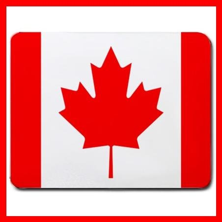 Canadian Flag Canada Country Mouse Pad MousePad Mat 031