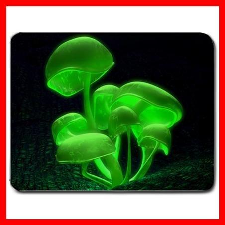 Green Shrooms Mushroom Hobby Mouse Pad MousePad Mat 033