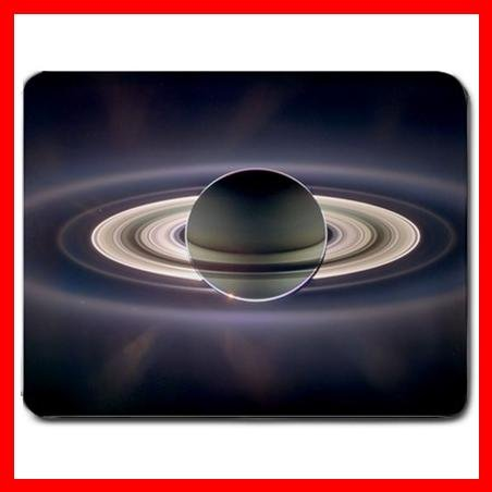 In Saturn's Shadow Space Fun Mouse Pad MousePad Mat 038