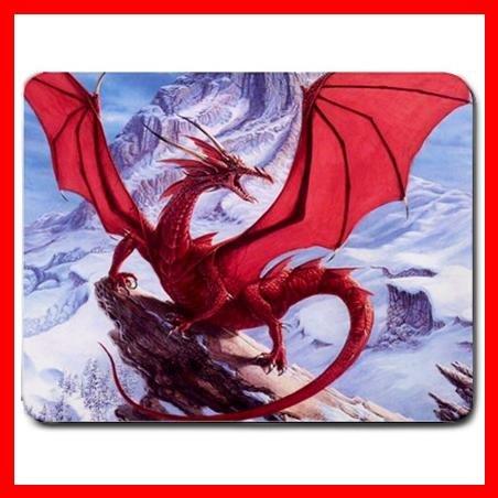 Red Dragon Mountain Myth Fun Mouse Pad MousePad Mat 043