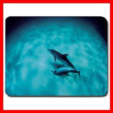 Sun Dolphin Art Sea Animal Mouse Pad MousePad Mat 044