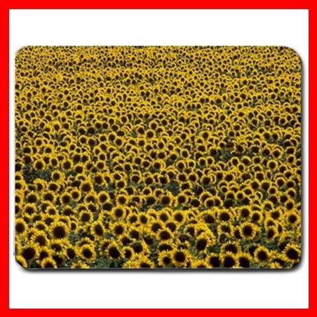 Sunflower Sea Sun Flower Naturel Mouse Pad MousePad Mat 045