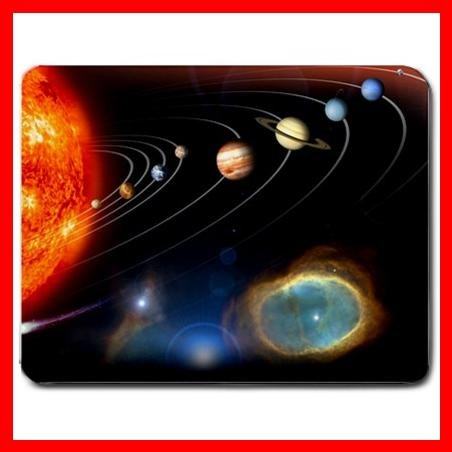 Solar System Space Science Mouse Pad MousePad Mat 046