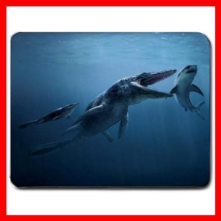 Tylosaurus Lizard Sea Animal Mouse Pad MousePad Mat 049
