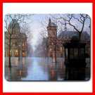 April In Paris City France Mouse Pad MousePad Mat 054