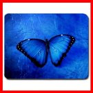 Butterfly In Blue Light Fun Mouse Pad MousePad Mat 060