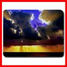 Blue Sky Cloudy Sunshine Fun Mouse Pad MousePad Mat 067