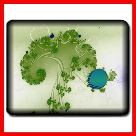Green Tree Holding A Lake Mouse Pad MousePad Mat 074