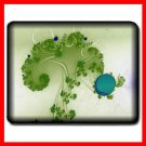 Green Tree Holding A Lake Mouse Pad MousePad Mat 074
