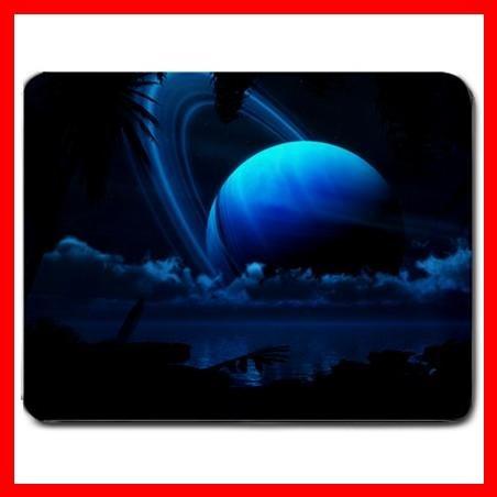 Tropical Blue Moon Science Mouse Pad MousePad Mat 075