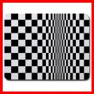 Bridget Riley Movement Square Mouse Pad MousePad Mat 081