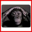 Chimpanzee Ape Animal Fun Mouse Pad MousePad Mat 082