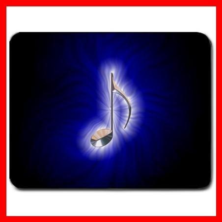 Blue Music Note Magic Hobby Mouse Pad MousePad Mat 086
