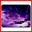 Mauve Sky with Lightning Mouse Pad MousePad Mat 089