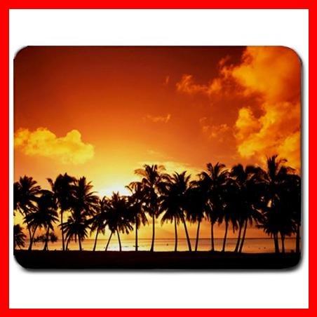 Palm Tree Sunset Mouse Pad MousePad Mat 095